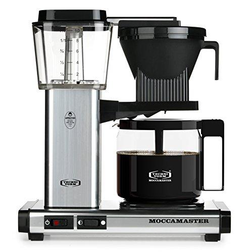 Technivorm Moccamaster 59616 KBG Coffee Brewer 40 oz Polished Silver