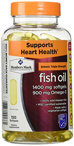 Members Mark Triple Strength Fish Oil 1400mg - 150 ct.