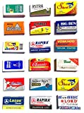 Astra-Derby-Shark-Lord-Treet-Voskhod-Rapira 100 Quality Double Edge Razor Blades Sampler (18 different brands)