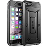 iPhone 6s Plus Case, SUPCASE Belt Clip Holster Apple iPhone 6 Plus Case 5.5 Inch Display [Unicorn Beetle Pro] w/Built-in Screen Protector (Black/Black)