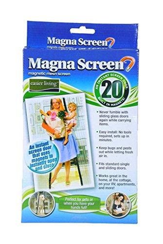 MAGNA MESH SCREEN HAS 20 MAGNETS