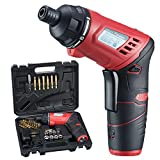 AOBEN Cordless Rechargeable Screwdriver 3.6-Volt 1300mAh Li-ion included Driver Bits and Charging Cable