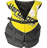 Hardcore Water Sports Adult Life Jacket Vest - US Coast Guard Approved Type III (Yellow Super Large)