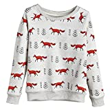 Product review for CATALOG CLASSICS Women's Foxy Sweatshirt - Heathered Gray