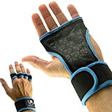 Mava Sports Cross Training Gloves with Wrist Support - Blue