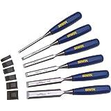 Irwin Tools Marples Woodworking Chisel Set, 6 Piece, M444SB6N