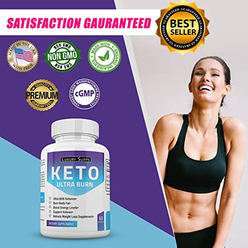 Keto BHB Ultra Burn - Advanced Weight Loss for Ketogenic Diet - Weight Loss Pills - 30 Day Supply - 60 Capsules 4