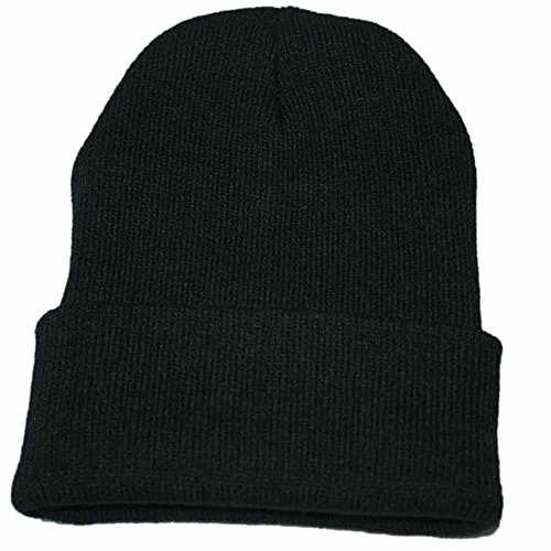 bede06c4f4c Challyhope Beanie for Women and Men - by Unisex Cuffed Plain Skull Toboggan  Knit
