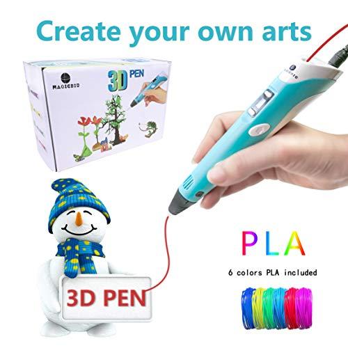 MagicBiu 3D Pen with PLA Filament...
