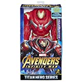 Marvel Figura de Acción Hank Hulkbuster Titan Hero Series Avengers, 12 Pulgadas