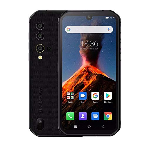 """51gmuYJkqaL - India Gadgets - Blackview BV9900 Mobile Phone: 8Gb Ram + 256Gb ROM: 5.84"""" FHD+ IPS Display: 48Mp Quad Rear Camera with Underwater Camera Mode: Ultra Rugged Waterproof IP68 & IP69K Smartphone (Black)"""