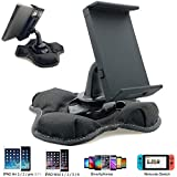 Universal GPS Smartphone & Tablet Beanbag Dash Dashboard Friction Mount Holder for All Smartphone iPhone X 8 7 Plus XR XS MAX Galaxy S9 S10 Note & 7-8' creen Tablets (iPad/iPad Mini Galaxy Tab E A