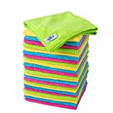 MR. SIGA Microfiber Cleaning Cloth,Pack of 24,Size:12.6