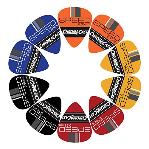 0.96mm ChromaCast Speed Series Celluloid Guitar Picks