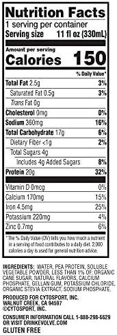 Evolve Protein Shake, Ideal Vanilla, 20g Protein, 11 Fl Oz (Pack of 12) 2