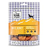 """""""I and love and you"""" Nice Jerky Bites, Chicken + Duck Recipe, 4 Oz"""