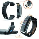 Smart Watch for Android and iOS Phone,Fitness Tracker Watch with Heart Rate Blood Pressure Watch Waterproof Smart… 12