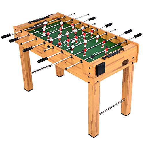 Giantex Foosball Soccer Table 48' Competition Sized Arcade Game Room Hockey Family Sport