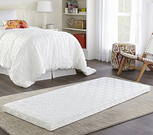 Broyhill Roll and Store Memory Foam Mattress: Roll-Up Guest Bed/Floor Mat, 3' Twin