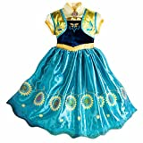 DreamHigh Girls Princess Birthday Party Cosplay Costume Sunflower Dress 2T Blue
