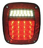 Jeep & Mid-Sized Truck Red Stop, Turn & Tail LED (38 Diodes)