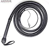 Product review for Kangaroo Hide BULL WHIP 06 to 16 Feet, 12 Plaits CUSTOM BULLWHIP Belly and Bolster Construction Indiana Jones Style Heavy Duty BLACK