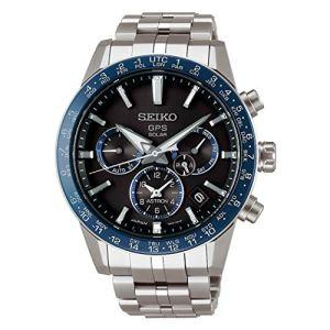 Seiko ASTRON Watch Astron 3rd Generation Solar GPS Titanium Model Black Letter Sapphire Glass Diamond Shield SBXC001 Men's