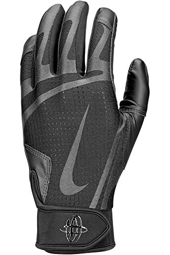 Nike Men's Huarache Edge Batting Gloves Black Size X-Large