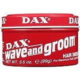 Dax Wave & Groom Hair Dress 3.5 Ounce Jar (103ml) (3 Pack)