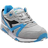 Diadora Mens N9000 NYL Blue Angel Falls/Dresden Blue Running Shoe - 8 M