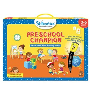 Skillmatics Educational Game: Preschool Champion, 3-6 Years, Multi Color 24  Skillmatics Educational Game: Preschool Champion, 3-6 Years, Multi Color 51hDh22RehL