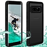 Waterproof Note 8 Case | Touchable Heavy Duty Protection Cellphone Cover | Underwater Full Body Shock-Proof Dirt-Proof Soft Cases for Galaxy Note 8 (6.3'')