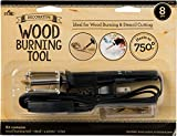 Plaid wood burning and stencil cutting tool, 30725E