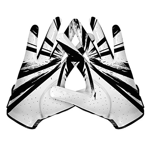Cutters Gloves, Black/White