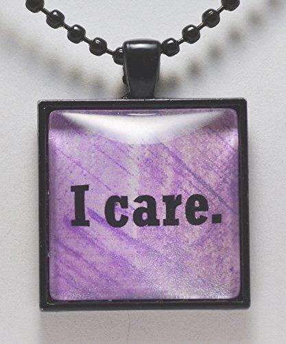 I Care Pendant Necklace Compassion Nurse Nursing Pendant Jewelry C L Murphy Creative