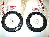 Honda 42810-VA3-J00 Pack of 2 Rear Wheels 8'