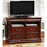 Product review for Furniture of America Grand Central 4 Drawer Media Chest - Cherry