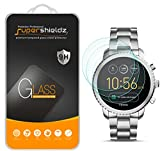 [3-Pack] Supershieldz for Fossil Q Explorist Gen 3 Tempered Glass Screen Protector, Anti-Scratch, Bubble Free, Lifetime Replacement