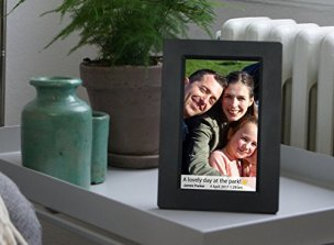 Feelcare-7-Inch-Smart-WiFi-Digital-Picture-Frame-with-Touch-Screen-Send-Photos-or-Small-Videos-from-Anywhere-IPS-LCD-Panel-Built-in-8GB-Memory-Wall-Mountable-PortraitLandscapeBlack