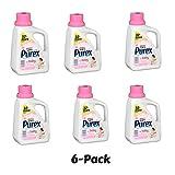 Purex Liquid Laundry Detergent, Baby, 50 oz (33 loads) - Pack of 6
