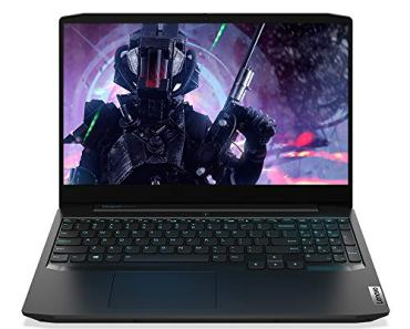 Lenovo Ideapad Gaming 3 10th Gen Intel Core i5 15.6-inch FHD IPS Gaming Laptop (8GB/1TB HDD + 256 GB SSD/Windows10/NVIDIA GTX 1650 4GB Graphics/with M100 RGB Gaming Mouse/Onyx Black/2.2Kg) 81Y400BNIN