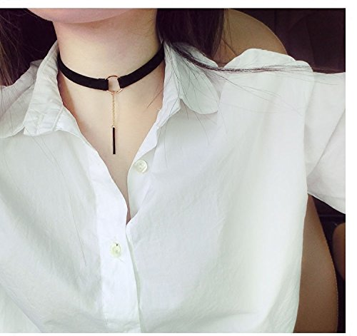 Generic girls neck collar necklace pendant jewelry chain necklace pendant clavicle _block_thyroid_surgery_scar_ necklace pendant _sexy