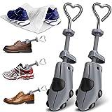 XYH Shoe Stretcher Men Premium Shoe Stretchers Tough Plastic Shoe Trees Adjustable Width and Length Shoe Stretcher Women M'S SZ(8.5-13.5) WM'S SZ (9.5-13.5)