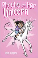Cover art for PHOEBE AND HER UNICORN by Dana Simpson