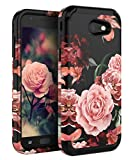 TIANLI Samsung Galaxy J3 2017 Case Shock Absorption Protective Three Layer Protection Case for Galaxy J3 Emerge/J3 Prime/J3 Mission/J3 Eclipse/J3 Luna Pro/Express Prime 2/Amp Prime 2/Sol 2 - Black