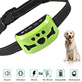 Dog No Bark Collar with Smart Detection Vibration and Harmless Shock- Rechargeable Anti Barking Device for Small Medium and Large Dog  (C165)
