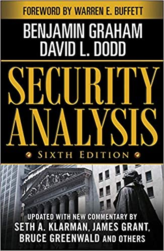 Security Analysis - TOP 5 Livros recomendados por Warren Buffet