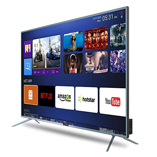 RCA 140 cm (55 inch) 4K Ultra HD Smart LED TV 55WR1904U (Silver) (2019 Model) | with Quantum Backlit Technology 7