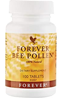 Etimhealthcare.com: Forever Bee Pollen Dietary Supplement - 100 Tablets - 100% Natural