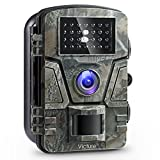 Victure Trail Game Camera 1080P 12MP Wildlife Camera Motion Activated Night Vision with 2.4 inch LCD Display IP66 Waterproof Design for Wildlife Hunting and Home Security